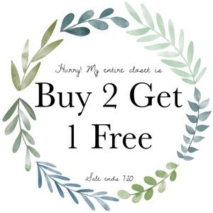 CLOSET SALE!!! Free gift with $50+ purchase!